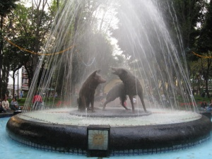 Coyoacan fountain