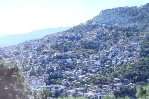 a view of Taxco